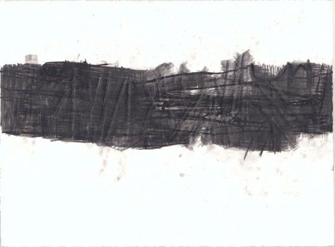 Anne Douglas - Black Drawing